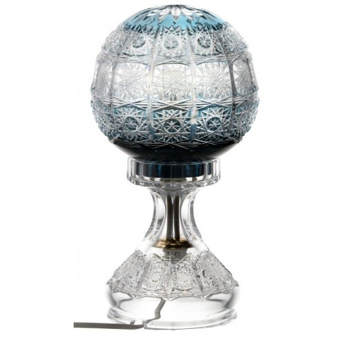 Lampa Paula, barva azurová, výška 305 mm