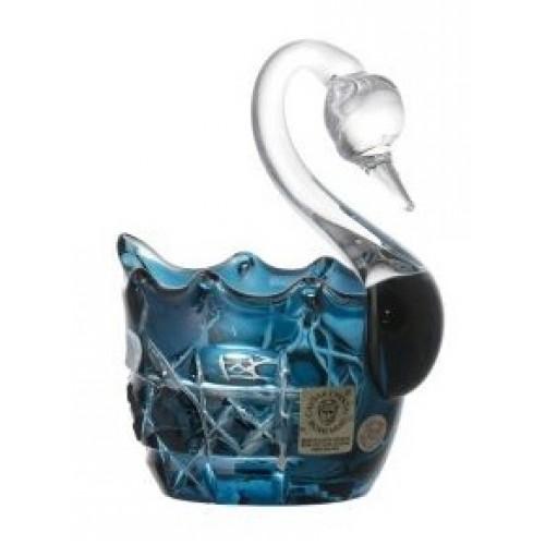 Labuť  Octagon, barva azurová, průměr 80 mm
