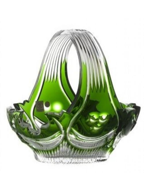 Koš  Diadem, barva zelená, průměr 230 mm