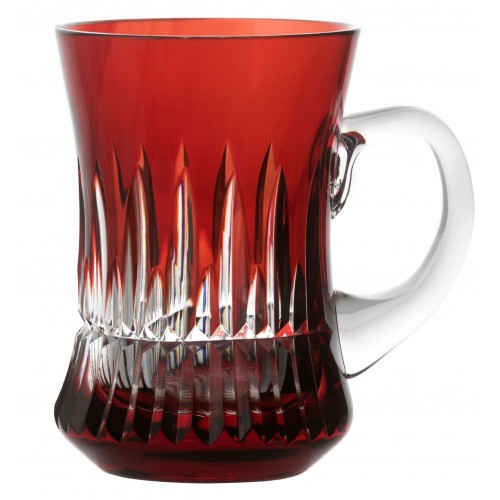 Hrneček  Thorn, barva rubín, objem 100 ml