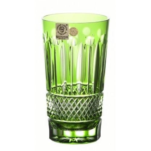 Sklenička Tomy, barva zelená, objem 320 ml