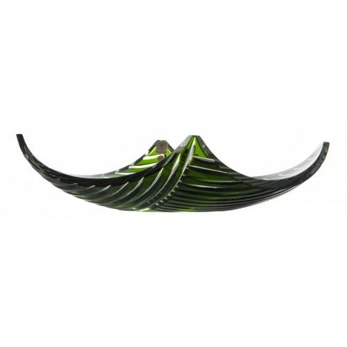 Mísa  Linum, barva zelená, průměr 350 mm