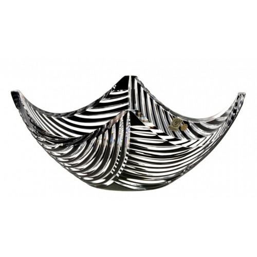 Mísa  Linum, barva černá, průměr 280 mm
