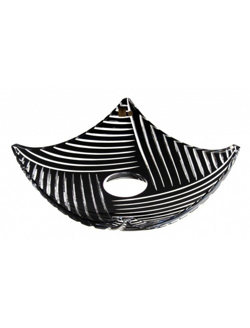 Mísa  Linum, barva černá, průměr 350 mm