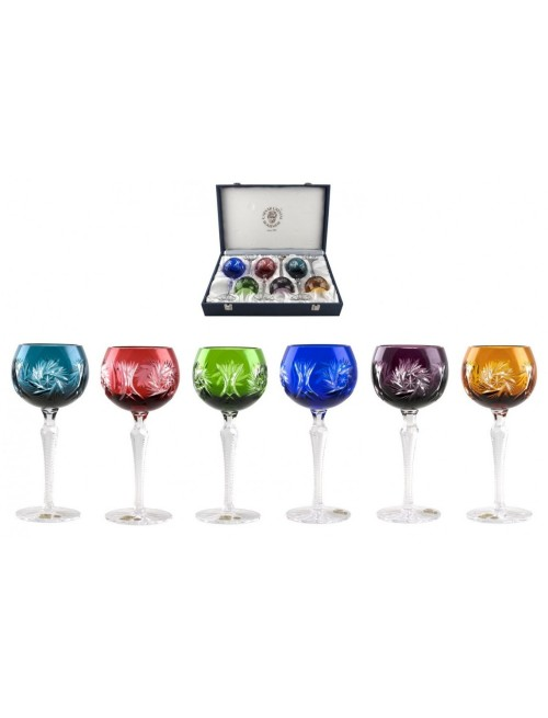 Set Sklenice na víno Pinwheel 190, barva mix barev, objem 190 ml