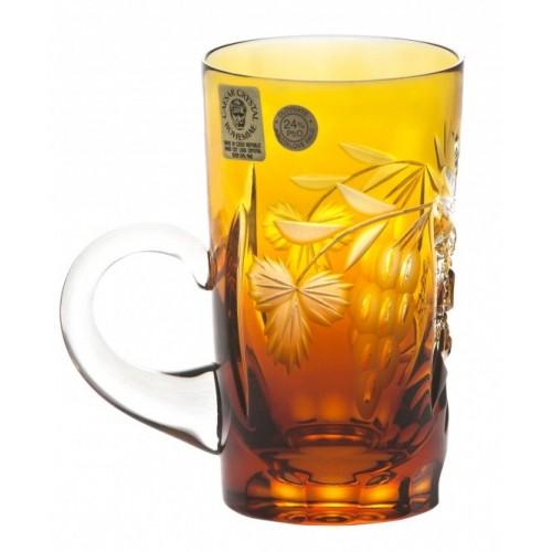 Hrneček  Nacht vine, barva amber, objem 100 ml