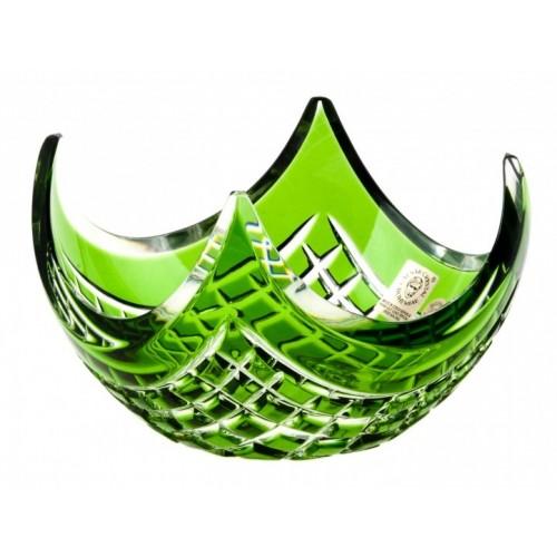 Miska Quadrus, barva zelená, průměr 140 mm