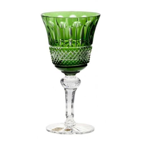 Sklenice na víno Tomy, barva zelená, objem 180 ml