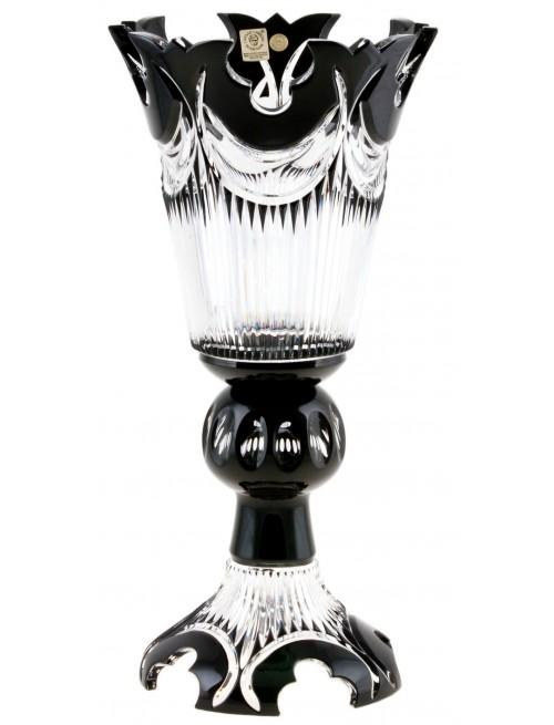 Váza Diadem, barva černá, výška 355 mm