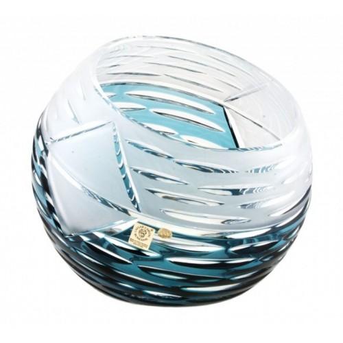 Váza  Mirage, barva azurová, výška 200 mm