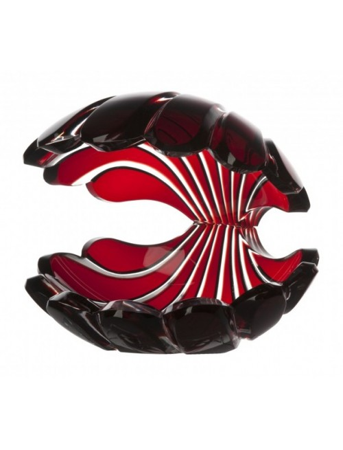 Lastura, barva rubín, výška 140 mm