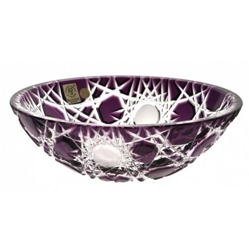 Mísa  Vločka, barva fialová, průměr 205 mm