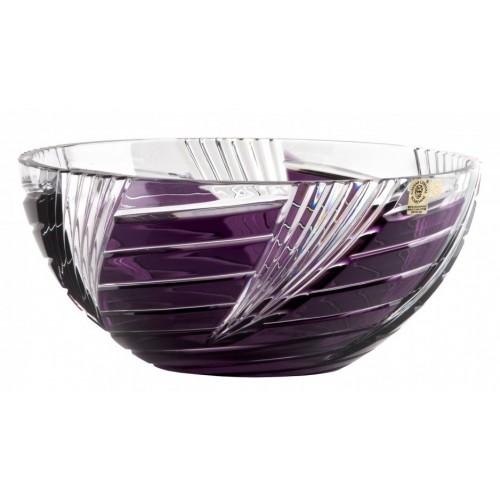 Mísa  Whirl, barva fialová, průměr 250 mm