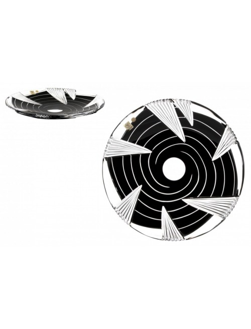 Taliř  Whirl, barva černá, průměr 300 mm