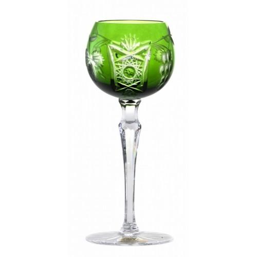 Sklenice na víno Nacht vine, barva zelená, objem 170 ml