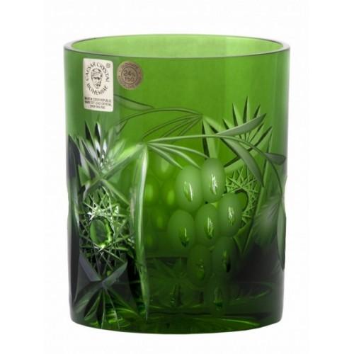 Sklenička Nacht vine, barva zelená, objem 320 ml