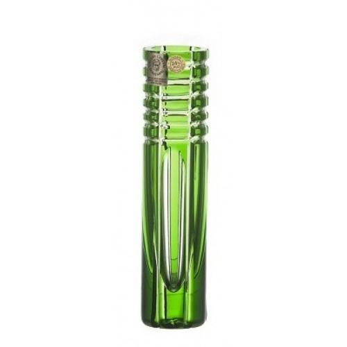 Váza Nora, barva zelená, výška 155 mm