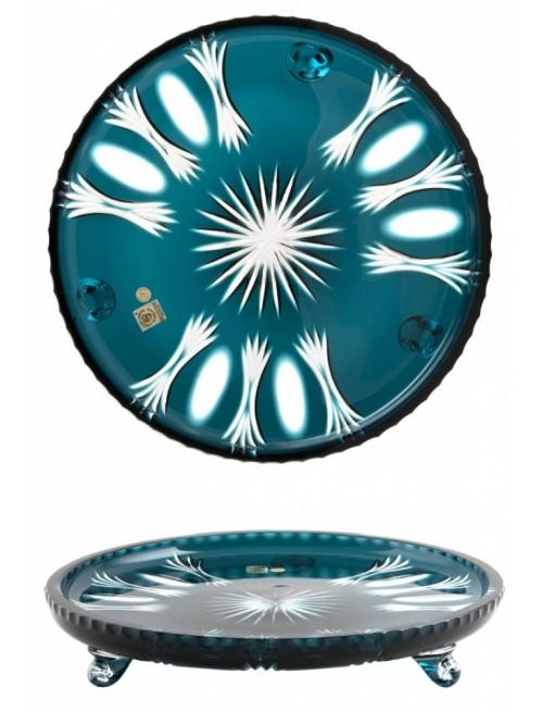 Talíř  Dandelion, barva azurová, průměr 305 mm