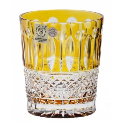 Sklenička Tomy, barva amber, objem 290 ml