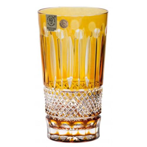 Sklenička Tomy, barva amber, objem 320 ml