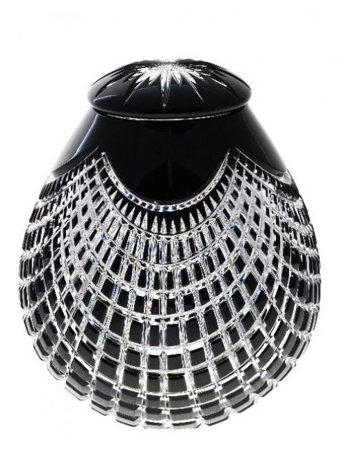 Urna  Quadrus, barva černá, velikost 290 mm