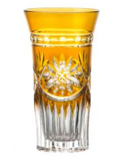 Sklenička Lili, barva amber, objem 120 ml