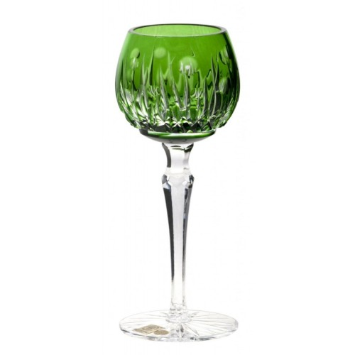 Sklenice na víno Heyday, barva zelená, objem 170 ml
