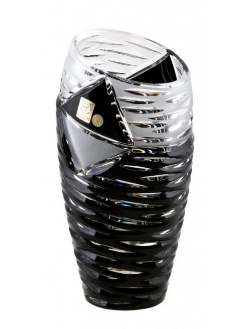Váza  Mirage, barva černá, výška 230 mm