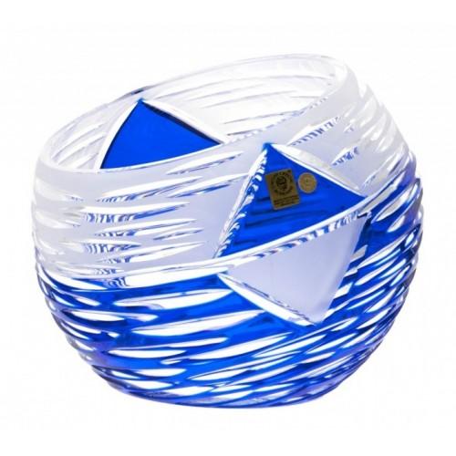 Váza  Mirage, barva modrá, výška 200 mm