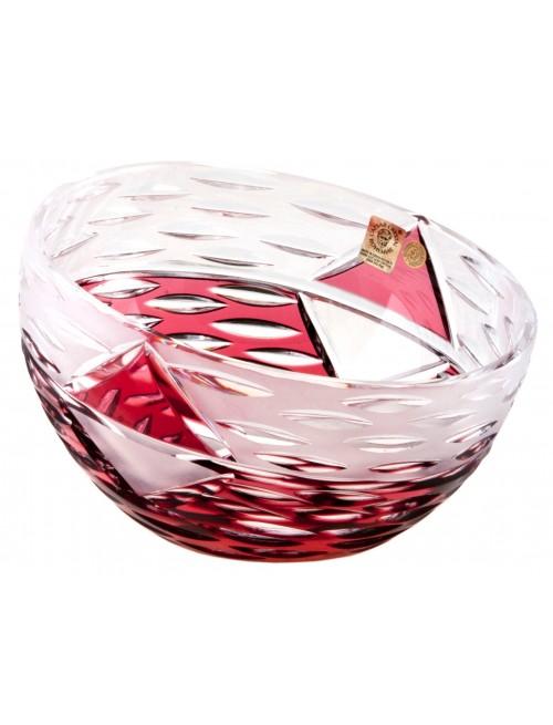 Miska Mirage, barva rubín, průměr 130 mm