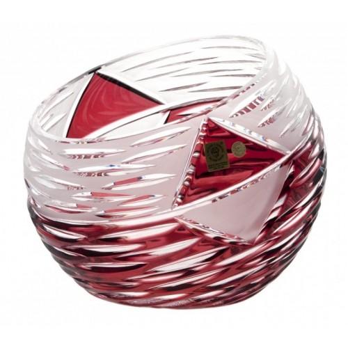 Váza  Mirage, barva rubín, výška 200 mm