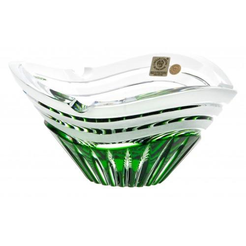 Popelník  Dune, barva zelená, průměr 180 mm
