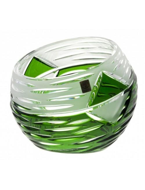 Váza  Mirage, barva zelená, výška 200 mm