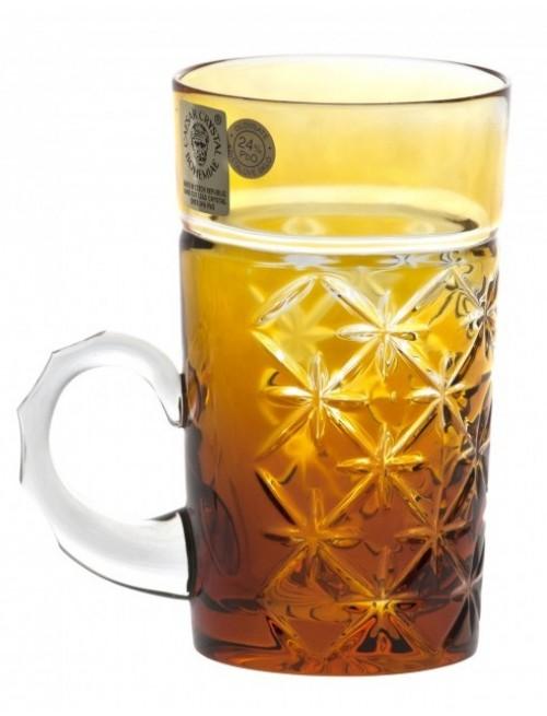 Hrneček  Charles, barva amber, objem 100 ml