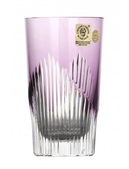 Sklenička Mikádo, barva fialová, objem 240 ml