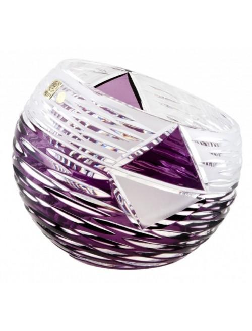 Váza  Mirage, barva fialová, výška 200 mm