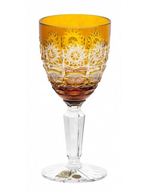 Sklenice na víno Paula, barva amber, objem 150 ml