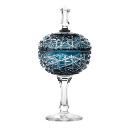 Pohár  Taiga, barva azurová, výška 315 mm