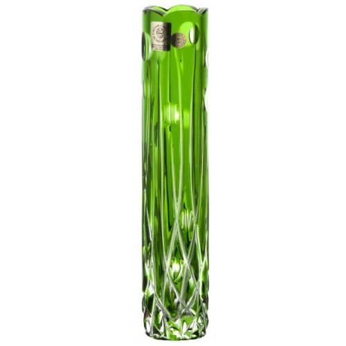 Váza Heyday, barva zelená, výška 205 mm