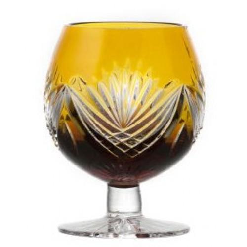 Sklenička Brandy Janette, barva amber, objem 230 ml