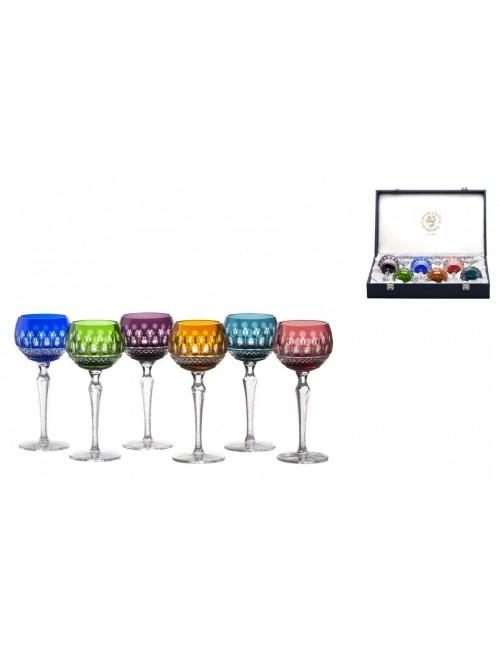 Set Sklenice na víno Tomy 190, barva mix barev, objem 190 ml