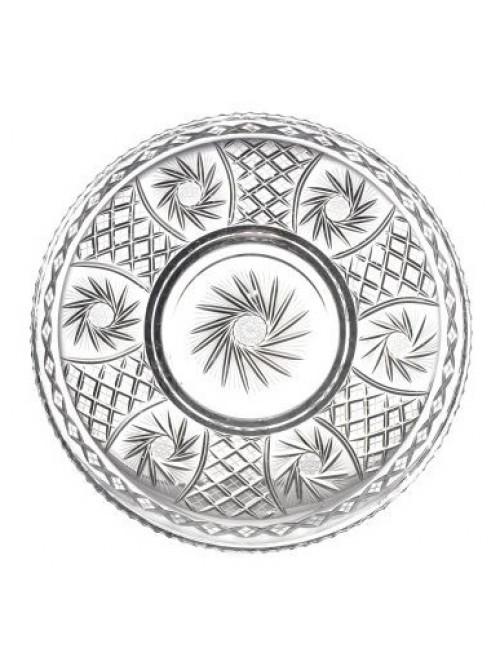 Talíř  Pinwheel, barva čirý křišťál, průměr 440 mm
