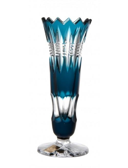 Váza  Brilant, barva azurová, výška 175 mm