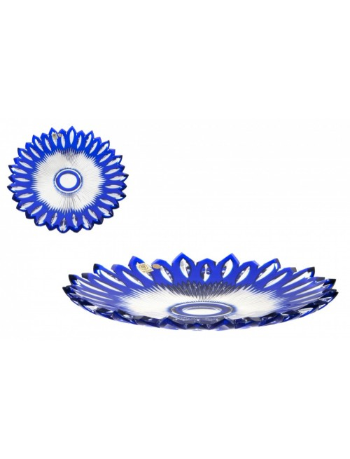 Talíř  Flame, barva modrá, průměr 300 mm