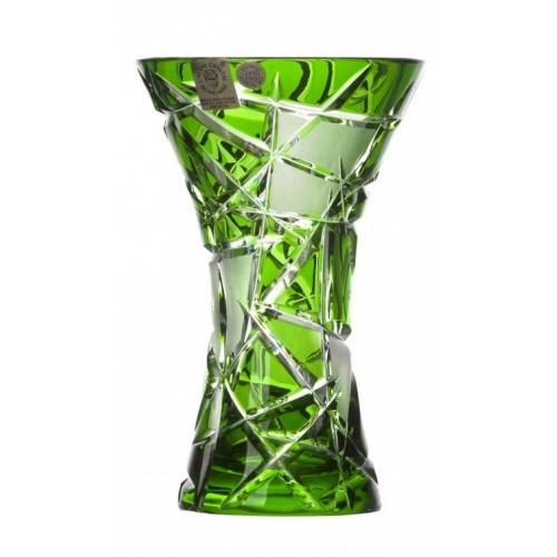 Váza  Mars, barva zelená, výška 155 mm