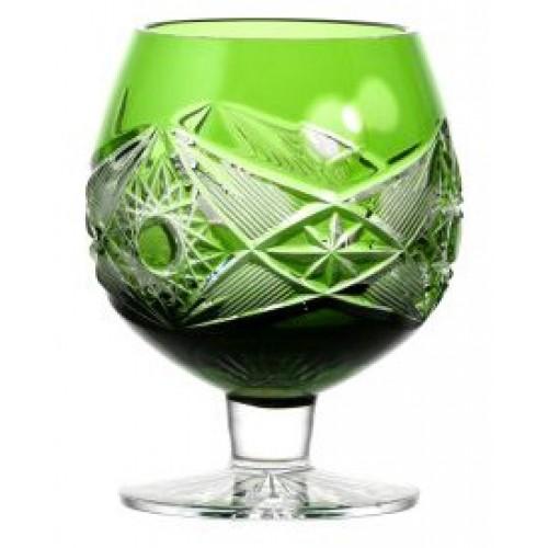Sklenička Brandy Nordika, barva zelená, objem 230 ml