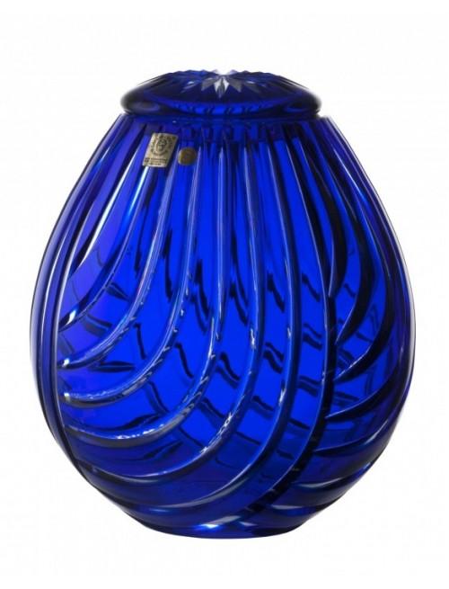 Urna  Linum, barva modrá, velikost 230 mm