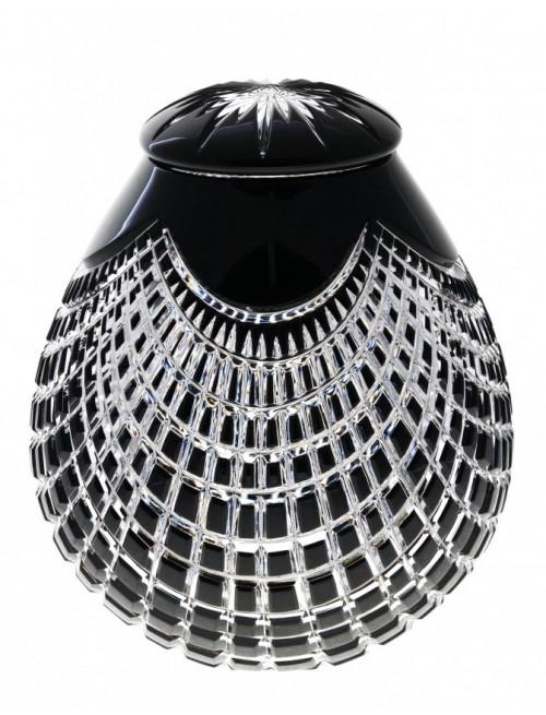 Urna  Quadrus, barva černá, velikost 230 mm