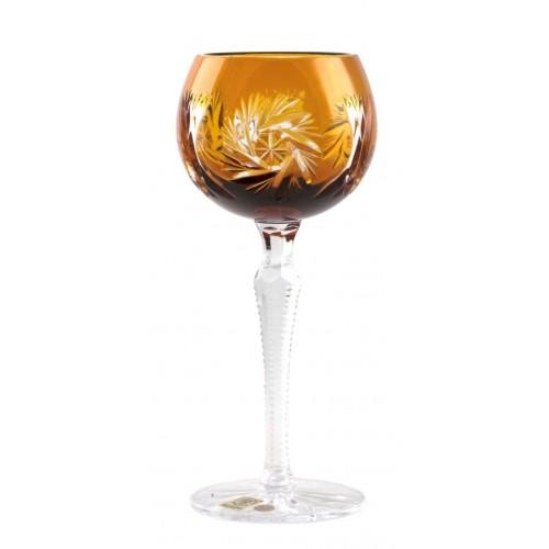 Sklenice na víno Pinwheel, barva amber, objem 190 ml