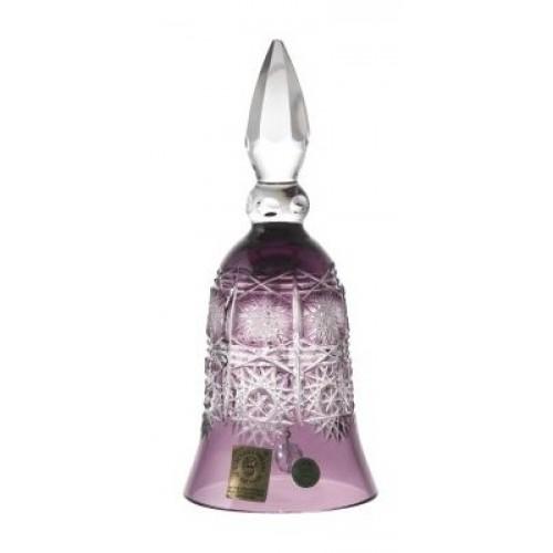 Zvonek  Paula, barva fialová, výška 155 mm